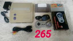 Super Nintendo completo com jogos