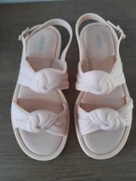 Melissa velvet sandal 36