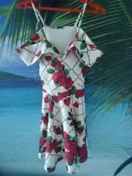 Título do anúncio: Vestido de malha florido