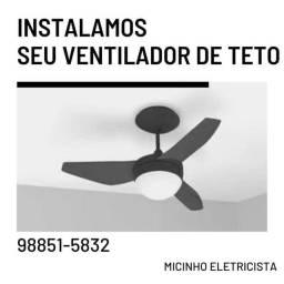 Instalamos seu ventilador de teto