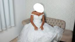 Vendo vestido de noiva é dama!