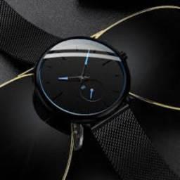 Relógio minimalista masculino (muito estiloso)