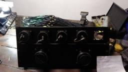 Som show rack ao vivo microfone sem fio mesa de som