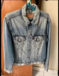 Jaqueta jeans masculina levis