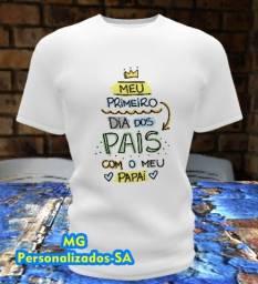 Camisa dia dos pais 2 Mg Personalizados-SA