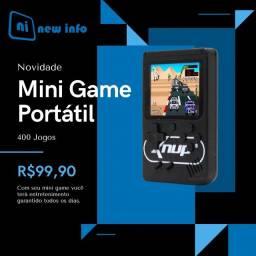 Mini Game Portatil com 400 Jogos
