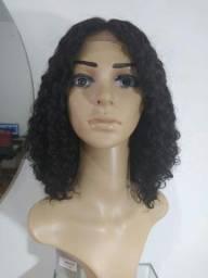 Peruca de cabelo humano 40cm