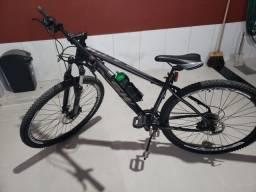Bicicleta KSW 24 Marchas  Aro 29 GTA Absolute Shimano Acera - Preta