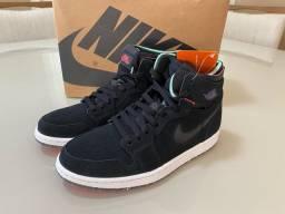 Tênis Air Jordan 1 Zoom Court Black 39