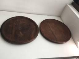 2 Suplart  de madeira