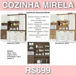 ARMÁRIO ARMÁRIO DE COZINHA MIRELLA // ARMÁRIO DE COZINHA ( EM MDP 7P E 3G)