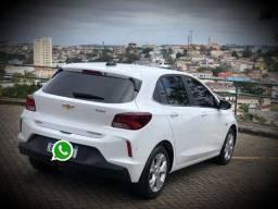 Novo Onix Hatch Premier Pacote 2 Turbo 2019/2020 Branco