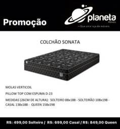 Colchão Sonata entrega gratuita