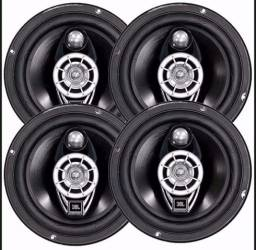 Kit 4 alto falantes 2 de 6 polegadas e 2 de 5 polegadas jBL selenium 6tr6a 240w rms