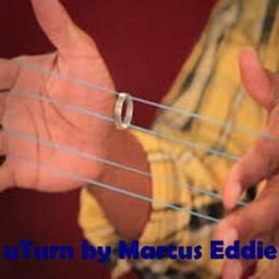 Mágica com elástico e anel