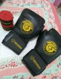 Luvas de Boxe + Bandagens elásticas Pretorian
