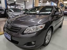Toyota Corolla 1.8 XEI Cinza 2009 (Automático + Couro) - 2009