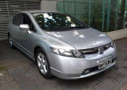 Honda Civic LXS Automático Prata 2008/2008 - 2008