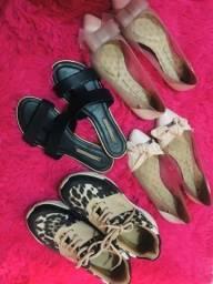 Sapatos sapatinho de luxo