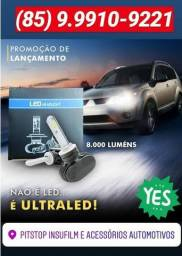 Kit Ultra Led Headlight 8000 Lumens Diversos Modelos 6 Meses Garantia