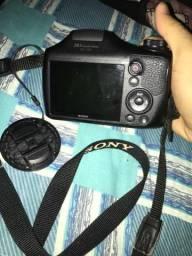 Câmera Sony semi- profissional