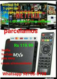 TV box 16 gigas 3 de ran Android 9.0