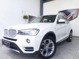BMW X3 2.0 20I Xline 4X4 16v 2015/2015 Branca - 2015