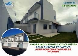 Casa à venda com 2 dormitórios em Das laranjeiras, Serra