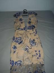 vestido de formatura usado uma vez