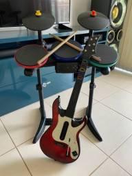 Bateria e Guitarra Ps3/Ps4
