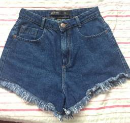 Short jeans seminovo
