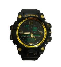 Relógio Cassio G Shock Esportivo Gs Militar Black A Prova