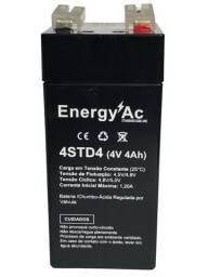 Bateria Recarregável 4V 4ah - Balanças Importadas / Alarmes etc