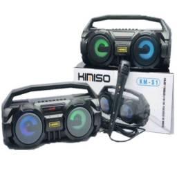 Super caixa de som kimiso KM-S1 entrega em até 24horas.