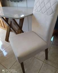 Cadeira pé de madeira ld 4 clara