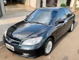 Honda Civic 1.7 EX Automatico + Couro ( ACEITO TROCAS )