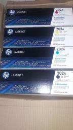 Toner 202A laserjet 4 cores