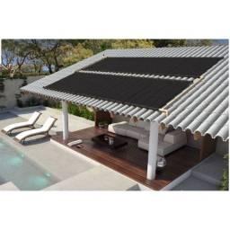 Título do anúncio: Kit Aquecedor Solar Piscina 18,0 m2 (05 Placas 3m)