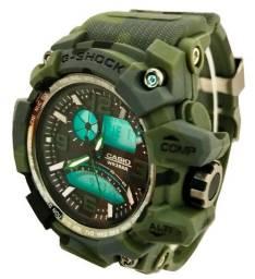 Relógio Cassio G Shock Esportivo Militar Camuflado