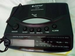 Radio Relogio ponta de estoque liquidação oferta aproveite