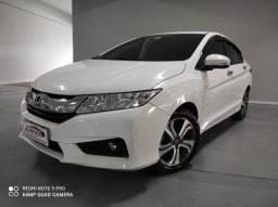 Honda City nj 1.5 aut 2015 impecável! 80km! troco e financio!