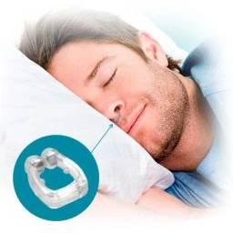 Air Sleep (clipe nasal anti-ronco confortável, flexível e leve.)