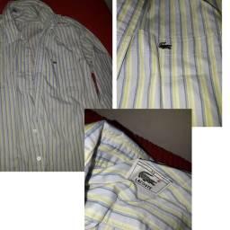 Camisa social Lacoste original tam 42