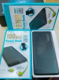Novo Carregador Portátil Powerbank Original Pineng 10000mah