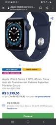 Relógio Apple watch Blue alumínio série 640mm