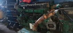 Título do anúncio: Motor com nota e baixa Volvo B12M onibus
