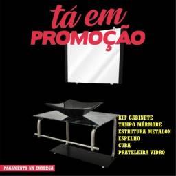 Promoção Kit Balcão Banheiro com Cuba