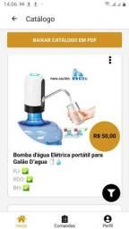 Bomba d'água Elétrica portátil para Galão D?agua ??<br>