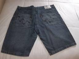Bermuda Jeans Tam. 54 (NOVA)aceito cartão de crédito.