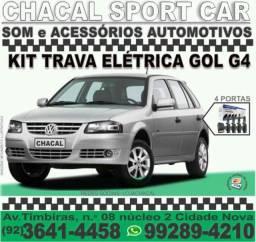 Título do anúncio: Kit trava-elétrica G4 (gol saveiro parati) novos e com nota fiscal